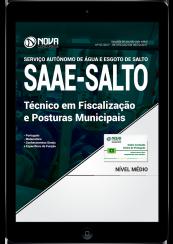 Download Apostila SAAE-SP PDF - Técnico em Fiscalização e Posturas Municipais