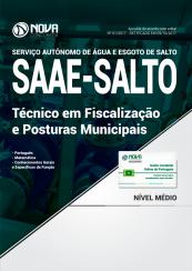 Apostila SAAE-SP - Técnico em Fiscalização e Posturas Municipais