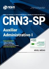 Apostila CRN3-SP - Auxiliar Administrativo I