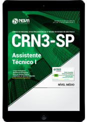 Download Apostila CRN3-SP PDF - Assistente Técnico I