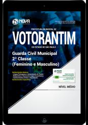 Download Apostila Prefeitura Municipal de Votorantim-SP PDF - Guarda Municipal 2ª Classe (Feminino e Masculino)