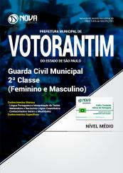 Apostila Prefeitura Municipal de Votorantim-SP - Guarda Municipal 2ª Classe (Feminino e Masculino)
