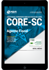 Download Apostila CORE-SC PDF - Agente Fiscal