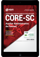 Download Apostila CORE-SC PDF - Auxiliar Administrativo de Pessoal