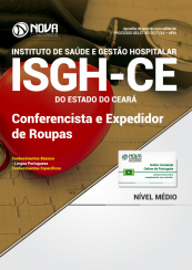 Apostila ISGH-CE - Conferencista e Expedidor de Roupas