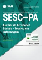 Apostila SESC-PA - Auxiliar de Atividades Sociais – Técnico em  Enfermagem