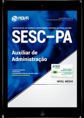 Download Apostila SESC-PA PDF - Auxiliar de Administração