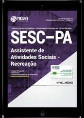 Download Apostila SESC-PA PDF - Assistente de Atividades Sociais – Recreação