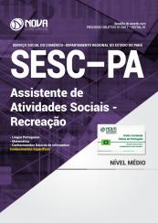 Apostila SESC-PA - Assistente de Atividades Sociais – Recreação