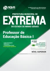 Apostila Prefeitura Municipal de Extrema-MG - Professor de Educação Básica I
