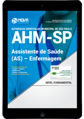 Download Apostila AHM-SP PDF - Assistente De Saúde (As) – Enfermagem