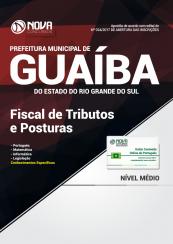 Apostila Prefeitura de Guaíba-RS - Fiscal de Tributos e Posturas
