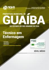 Apostila Prefeitura de Guaíba-RS - Técnico em Enfermagem