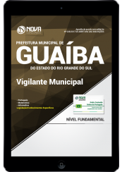 Download Apostila Prefeitura de Guaíba-RS PDF - Vigilante Municipal