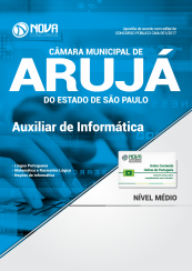 Apostila Câmara Municipal de Arujá-SP - Auxiliar de Informática