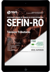 Download Apostila SEFIN-RO PDF - Técnico Tributário