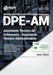 Apostila DPE-AM - Assistente Técnico de Defensoria - Assistente Técnico Administrativo