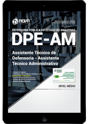Download Apostila DPE-AM PDF - Assistente Técnico de Defensoria - Assistente Técnico Administrativo