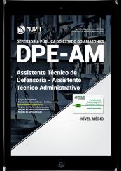 Download Apostila DPE-AM PDF - Assistente Técnico de Defensoria - Assistente Técnico Administrativo