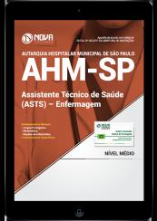 Download Apostila AHM-SP PDF - Assistente Técnico de Saúde (ASTS) - Enfermagem