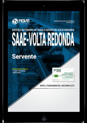 Download Apostila SAAE Volta Redonda-RJ PDF - Servente