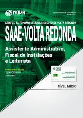 Apostila SAAE Volta Redonda-RJ - Assistente Administrativo, Fiscal de Instalações e Leiturista