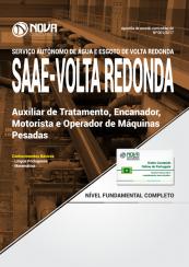 Apostila SAAE Volta Redonda-RJ - Auxiliar de Tratamento + Diversos Cargos