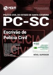 Apostila PC-SC - Escrivão de Polícia Civil
