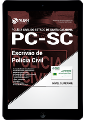 Download Apostila PC SC PDF - Escrivão de Polícia Civil