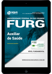 Download Apostila FURG-RS PDF - Auxiliar de Saúde