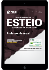 Download Apostila Prefeitura Municipal de Esteio-RS PDF - Professor de Área I