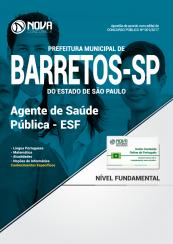 Apostila Prefeitura de Barretos-SP - Agente de Saúde Pública - ESF