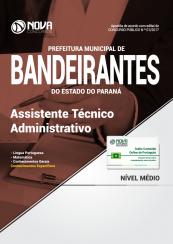 Apostila Prefeitura de Bandeirantes-PR - Assistente Técnico Administrativo