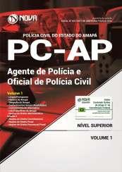 Apostila PC-AP - Agente de Polícia Civil e Oficial de Polícia Civil