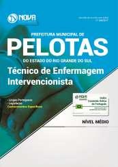 Apostila Prefeitura de Pelotas-RS - Técnico de Enfermagem Intervencionista
