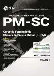Apostila PM-SC - Curso de Formação de Oficiais da Polícia Militar