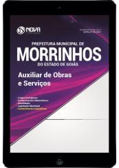 Download Apostila Pref. de Morrinhos - GO Pdf - Auxiliar de Obras e Serviços