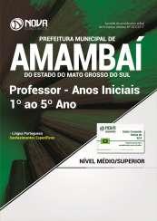 Apostila Prefeitura de Amambaí-MS - Professor Anos Iniciais 1º ao 5º Ano