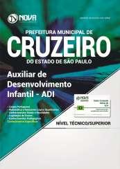 Apostila Prefeitura de Cruzeiro - SP  - Auxiliar de Desenvolvimento Infantil - ADI