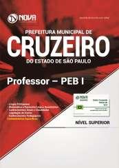 Apostila Prefeitura de Cruzeiro - SP - Professor – PEB I