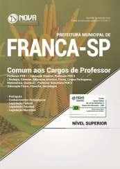 Apostila Prefeitura de Franca - SP - Comum aos Cargos de Professor