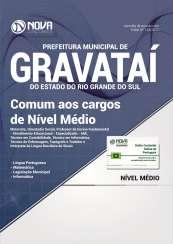 Apostila Prefeitura de Gravataí-RS - Comum aos Cargos de Nível Médio