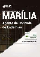 Apostila Prefeitura de Marília - SP - Agente de Controle de Endemias