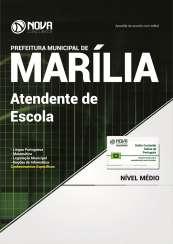 Apostila Prefeitura de Marília - SP - Atendente de Escola