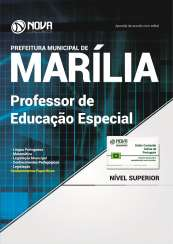 Apostila Prefeitura de Marília - SP - Professor de Educação Especial