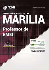 Apostila Prefeitura de Marília-SP - Professor de EMEI