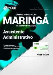 Apostila Câmara Mun. de Maringá - PR - Assistente Administrativo