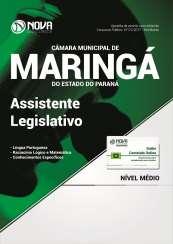 Apostila Câmara de Maringá - PR - Assistente Legislativo