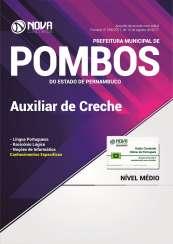 Apostila Prefeitura de Pombos - PE - Auxiliar de Creche