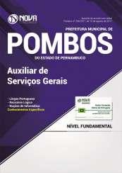 Apostila Prefeitura de Pombos - PE - Auxiliar de Serviços Gerais